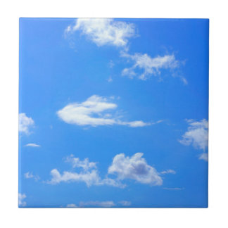 summer sky ceramic tile