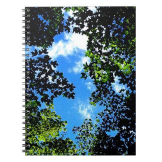 summer sky notebook