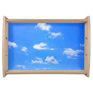 summer sky serving tray