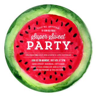 Summer Slice Invite