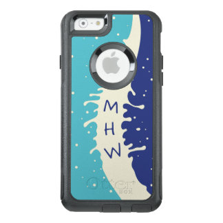 Summer Splash custom monogram phone cases