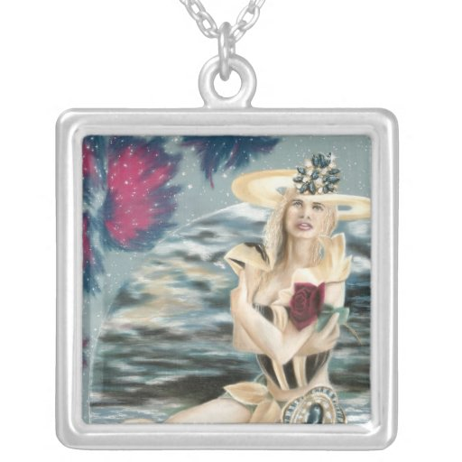 Summer Star Princess - cricketdiane fantasy sci-fi Custom Necklace