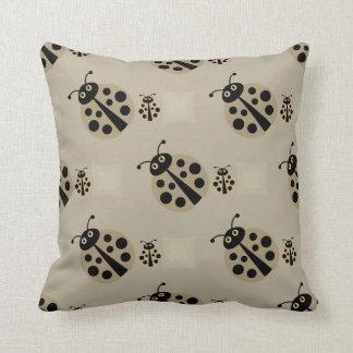 Summer Stone Polka Dot Lady Bugs Pillow