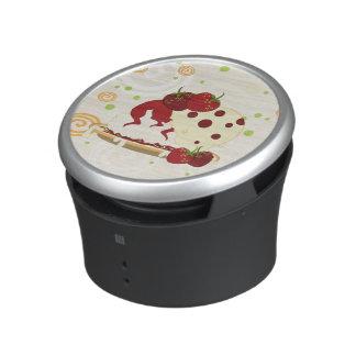 Summer Strawberries And Ice Cream Art Speaker