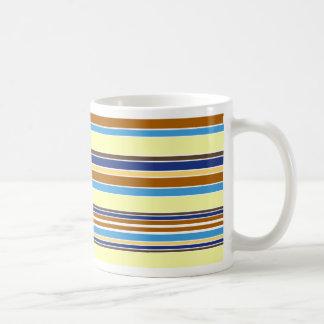 Summer Stripes Basic White Mug