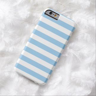 Summer Stripes Cornflower Blue iPhone 6 case