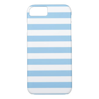 Summer Stripes Cornflower Blue iPhone 7 case
