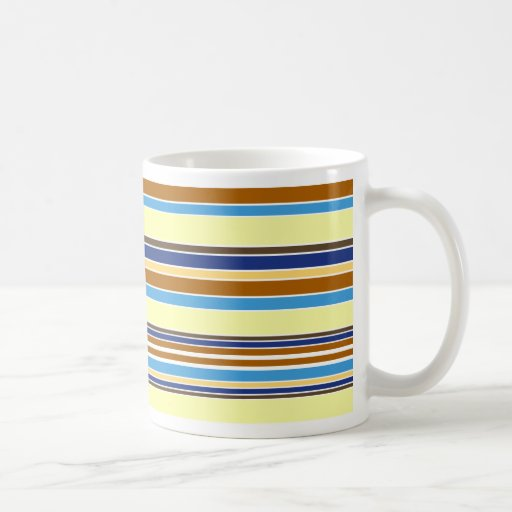 Summer Stripes Mugs