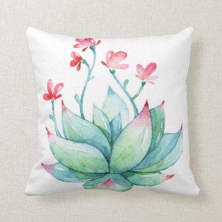 Summer Succulent Cushion