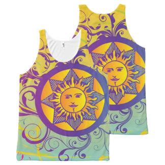 summer sun All-Over print singlet