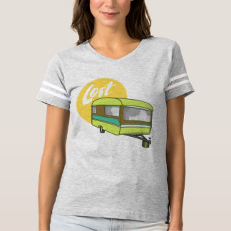 Summer Sun Caravan Lost Retro T-Shirt