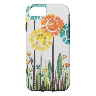 Summer Sun Flowers iPhone 8/7 Case