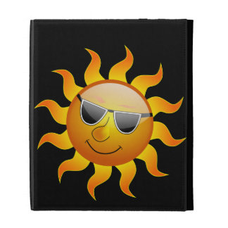 Summer Sun funny Caseable iPad Case