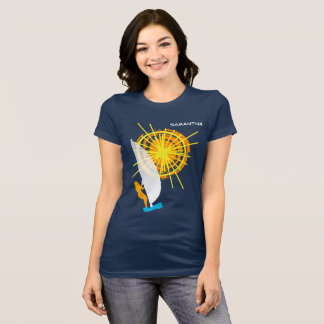 Summer Sun Windsurfing Funny customizable T-Shirt