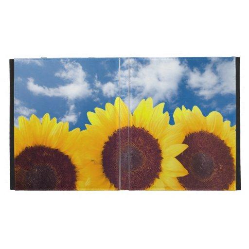 Summer Sunflowers iPad Case