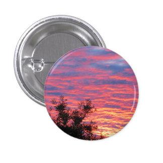 Summer Sunset 3 Cm Round Badge