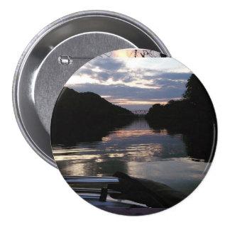 Summer Sunset 7.5 Cm Round Badge