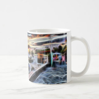 Summer sunset coffee mug