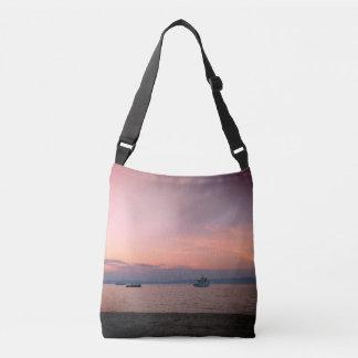 Summer Sunset Custom All-Over-Print Cross Body Bag