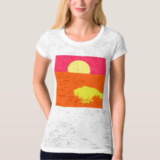 SUMMER SUNSET - Fine art T-shirt