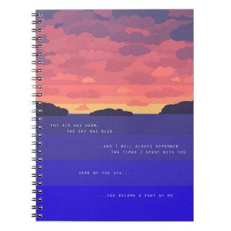 Summer Sunset Note Books