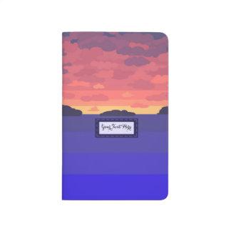 Summer Sunset Pocket Journal