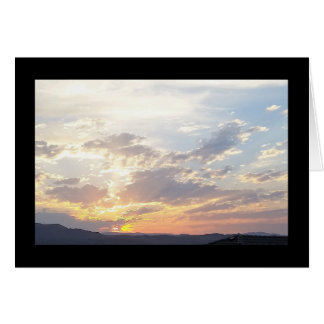 Summer Sunset- Song of Sol. 8:7 Greeting Card