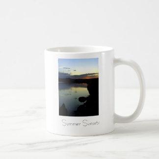 Summer Sunsets Coffee Mugs