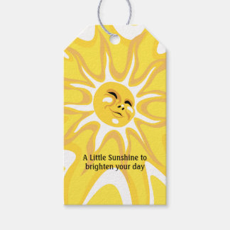Summer Sunshine Appreciation Thank You Gift Tag