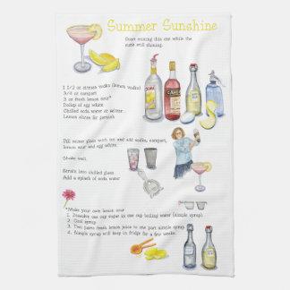 Summer Sunshine Tea Towel