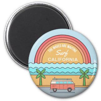 Summer Surfer custom location magnet
