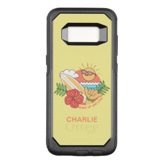 Summer Surfer custom name phone cases