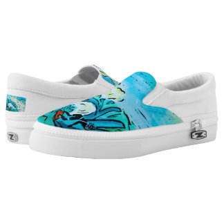 Summer Surfer Slip On Shoes