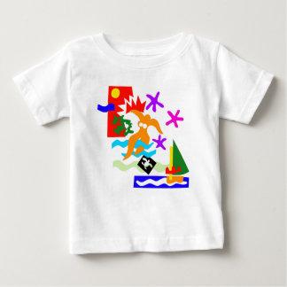 Summer swimmer -Baby t'shirt Baby T-Shirt