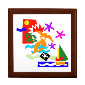 Summer swimmer - Keepsake box