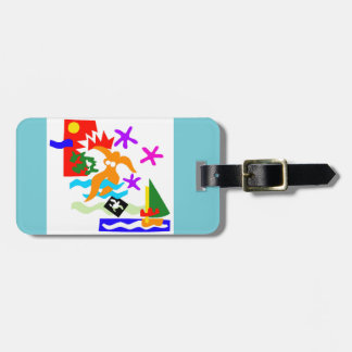 Summer swimmer - Luggage tag