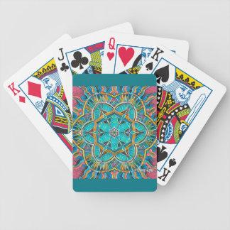 Summer Theme Kaleidoscope Bicycle Playing Cards