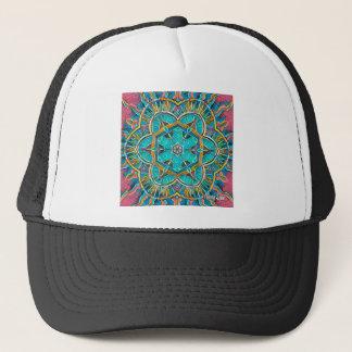 Summer Theme Kaleidoscope Trucker Hat