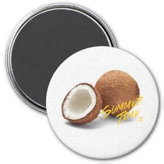 Summer time- coconut magnet