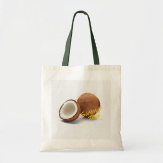 Summer time-coconut tote bag