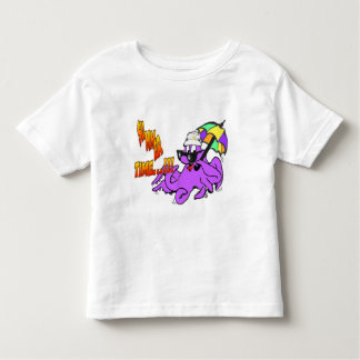 Summer Time Octopus Toddler T-shirt