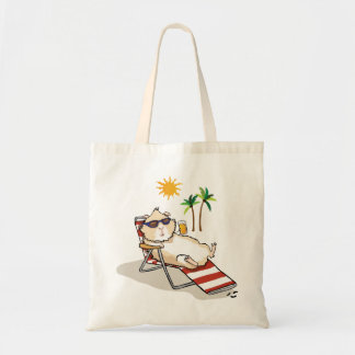 Summer Time Piggy Tote Bag