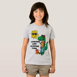 Summer Time T-Rex T-Shirt