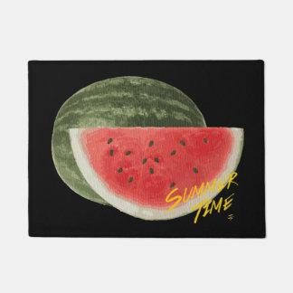 Summer time- watermelon doormat