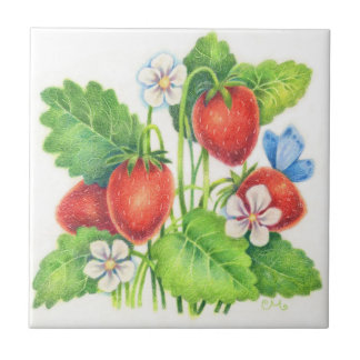 Summer Treat - Strawberry Tile