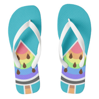 Summer Treats Flip Flops - Watermelon