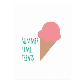 Summer Treats Postcard