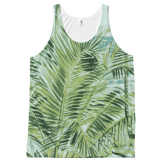 Summer Tropical Palm Tree Tank