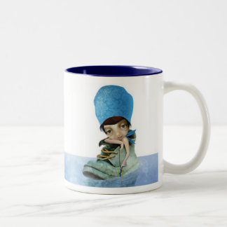 Summer Two-Tone Coffee Mug