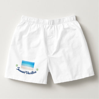 Summer Vacation Boxers